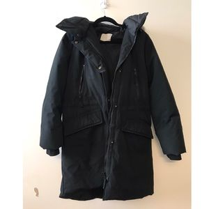 Soia and Kyo Down Hooded Winter Coat